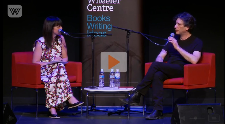 Neil Gaiman and The Ocean at the End of the Lane (video)