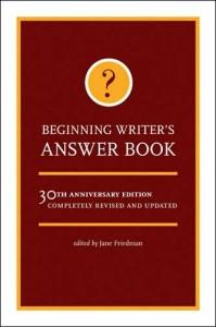 beginning writers answer book