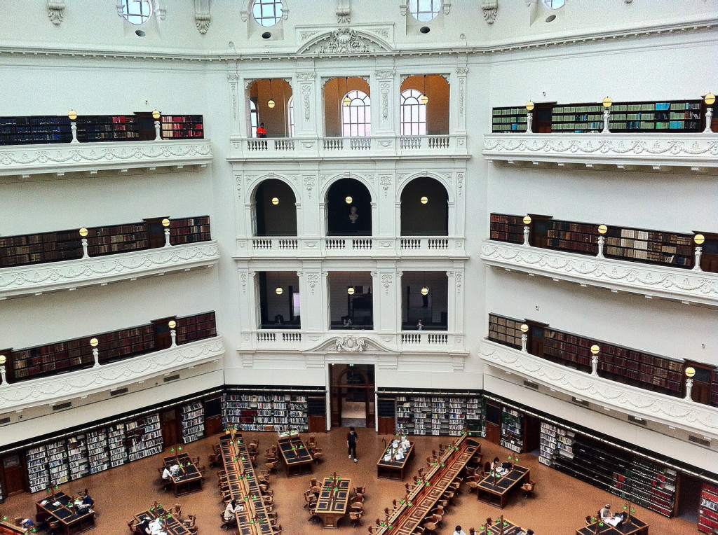 Library Fellowships - State Library of Victoria - Credit Brian Yap