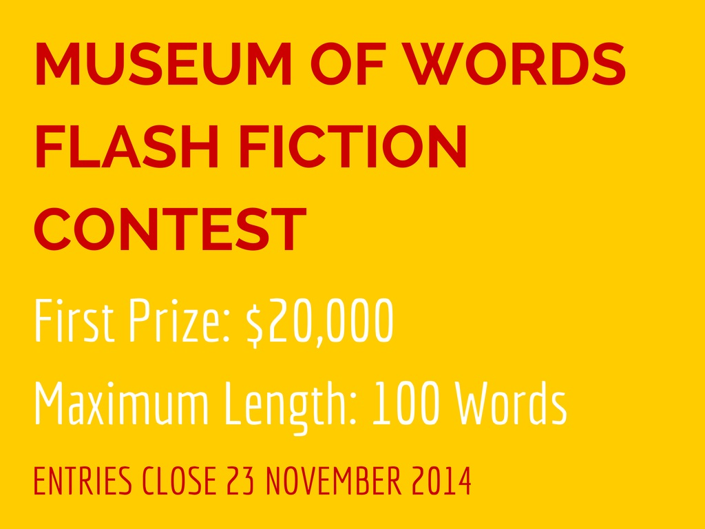 Museum of Words Flash Fiction Contest