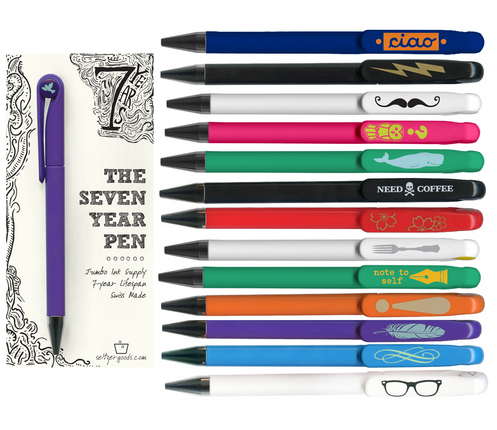 Christmas Gifts for Writers - The Seven Year Pen