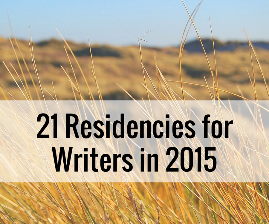 21 Residencies for Writers in 2015
