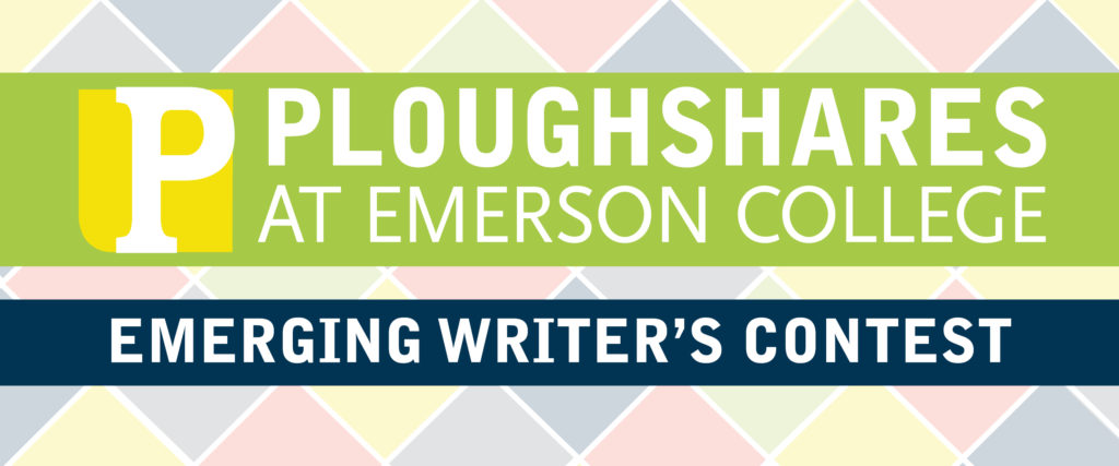 Ploughshares Emerging Writer's Contest 2015