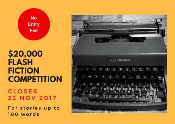 $20,000 for a 100-Word Story: The Museum of Words Flash Fiction Contest