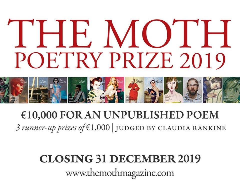 Entries are open for The Moth's €10,000 Poetry Prize